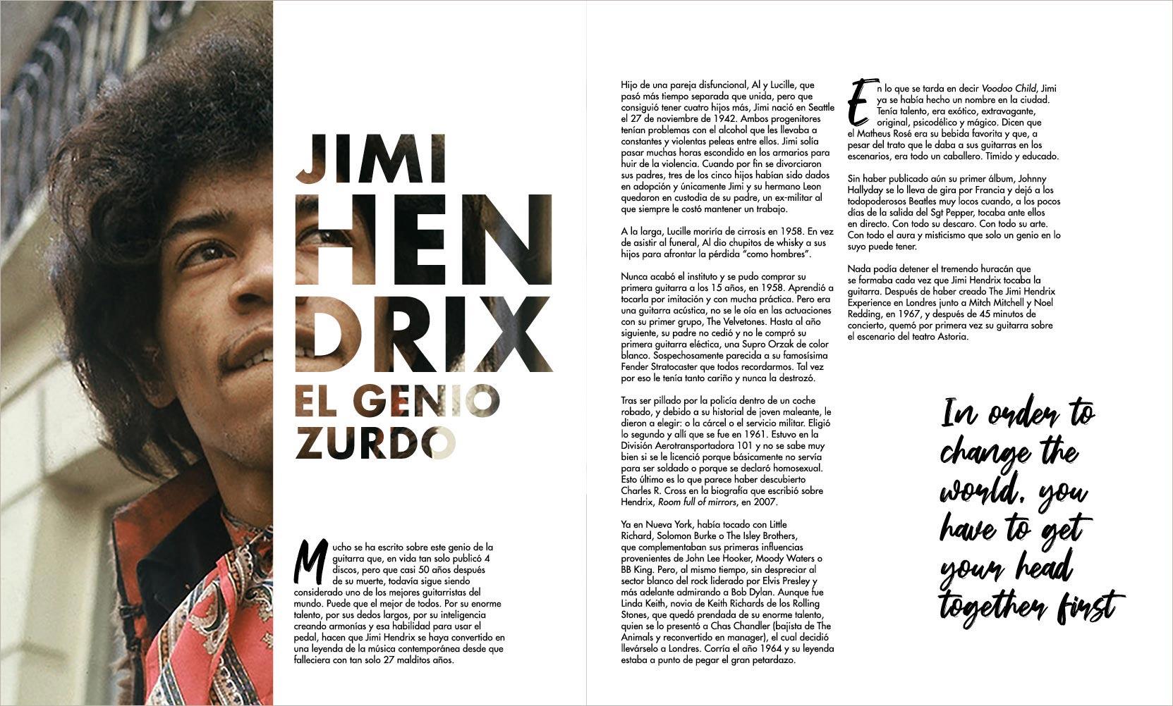 Jimi Hendrix: genio zurdo